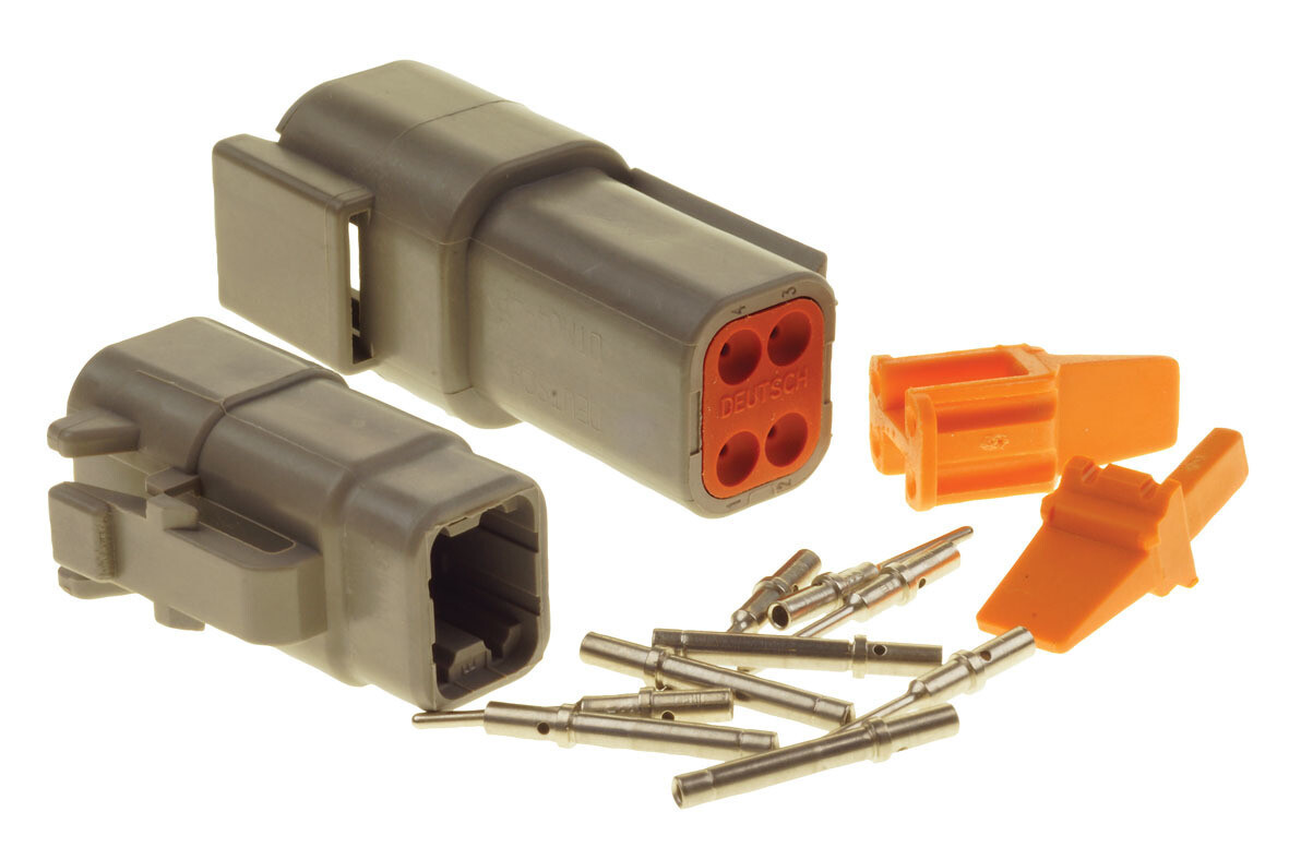 Deutsch DTM 4-Way Connector Kit