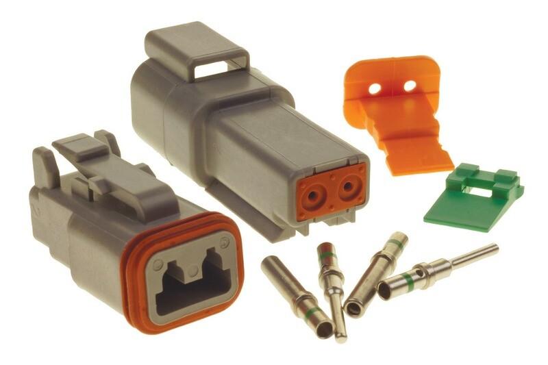 Deutsch DT 2-Way Connector Kit