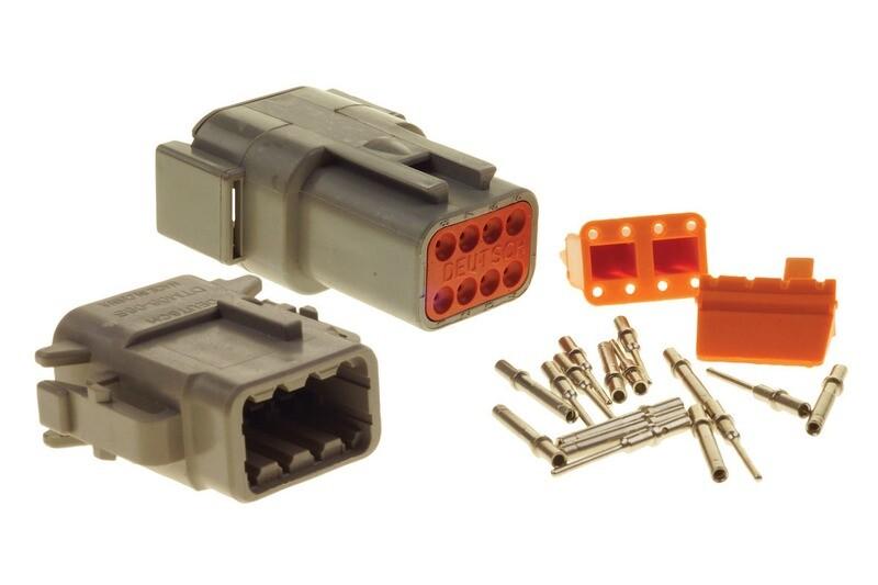 Deutsch DTM 8-Way Connector Kit