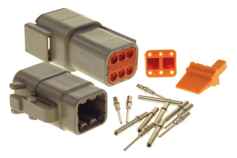 Deutsch DTM 6-Way Connector Kit
