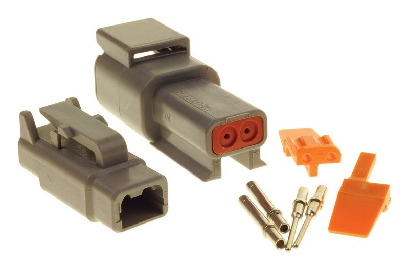 Deutsch DTM 2-Way Connector Kit
