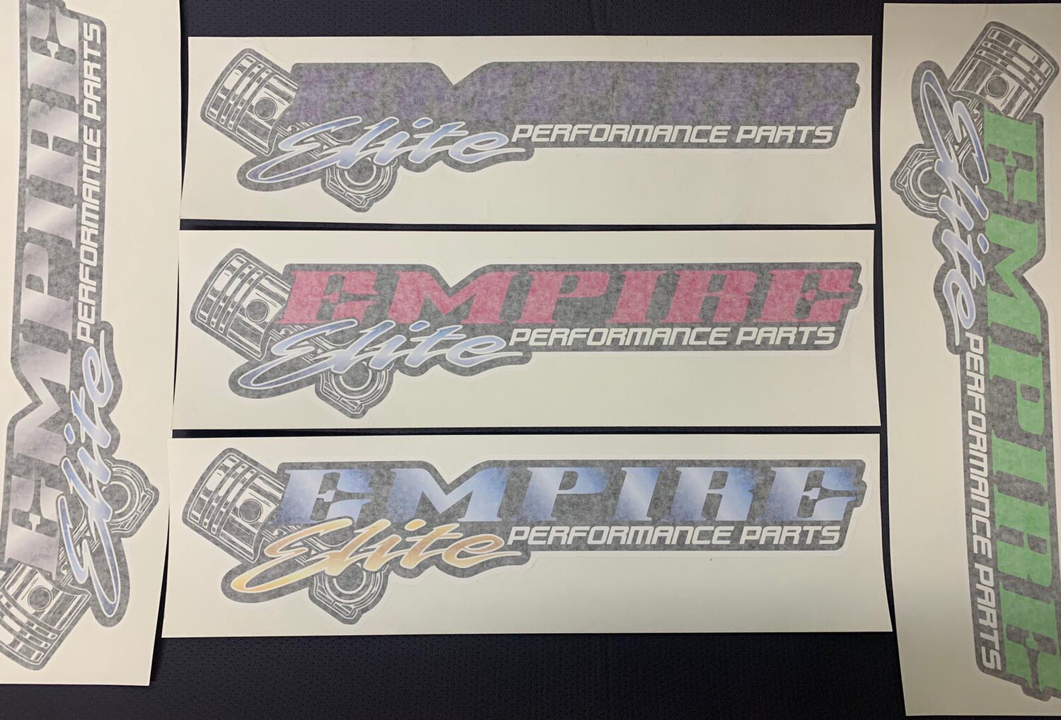 Empire Elite Sticker - 500mm