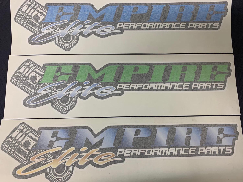 Empire Elite Sticker - 600mm
