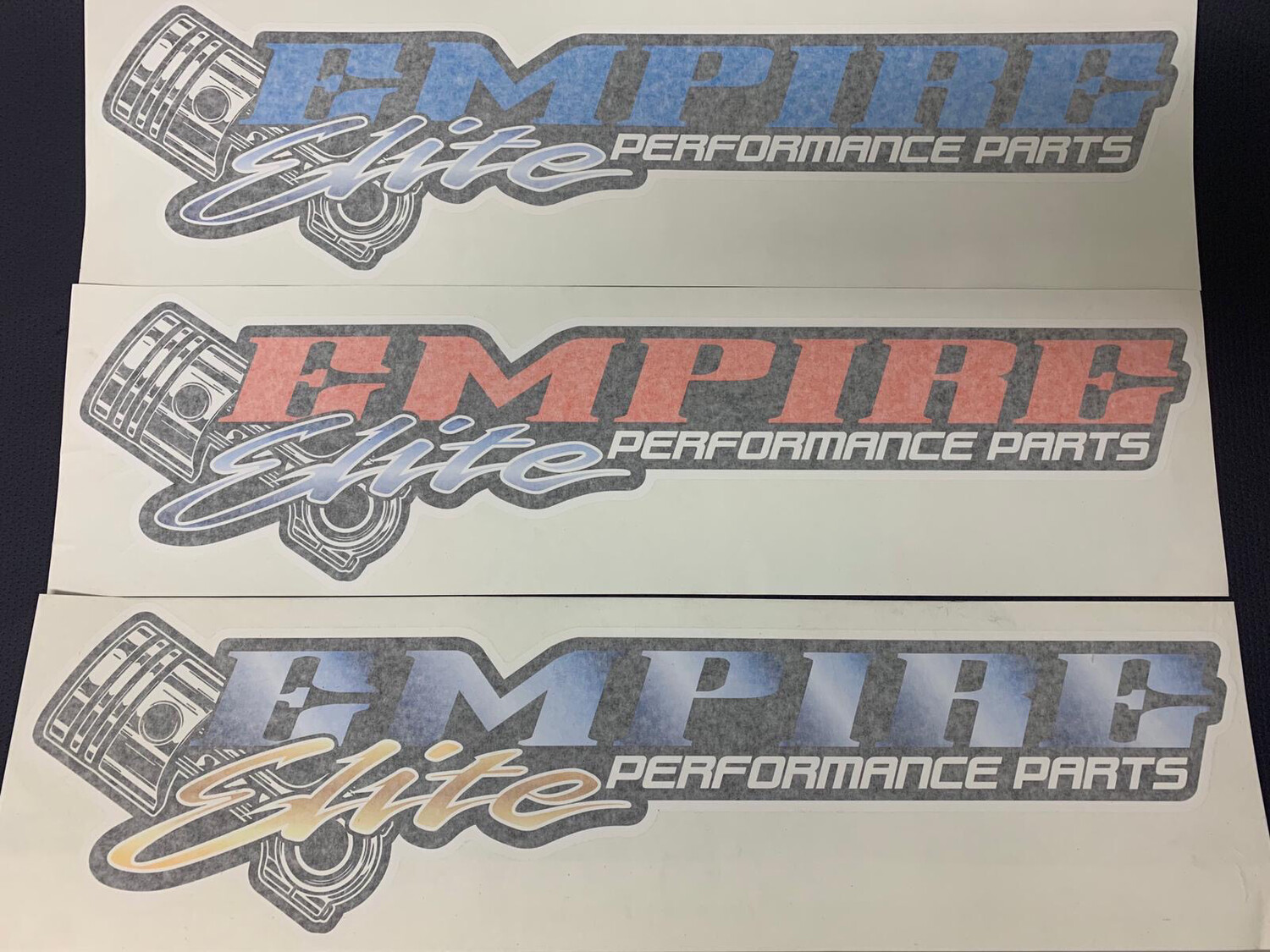 Empire Elite Sticker - 720mm