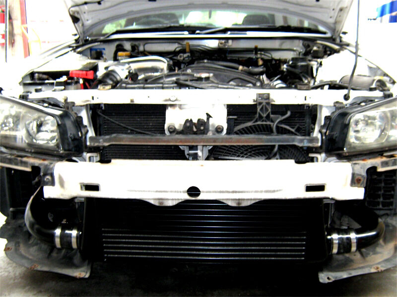 R33 GTS-T PRO SERIES BAR & PLATE INTERCOOLER KIT