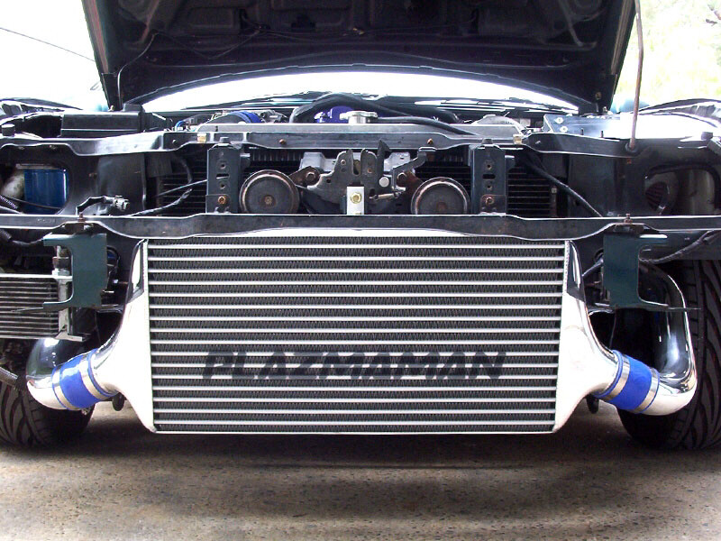 S14/15 COMPETITION SWEPT BACK TUBE & FIN INTERCOOLER KIT