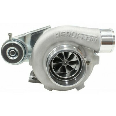 BOOSTED 5428 .64 Turbocharger 445HP, Natural Cast Finish