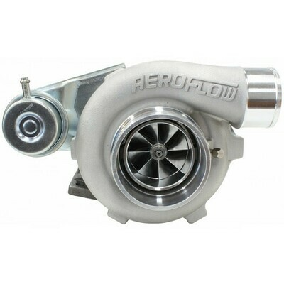 BOOSTED 5428 .86 Turbocharger 445HP, Natural Cast Finish