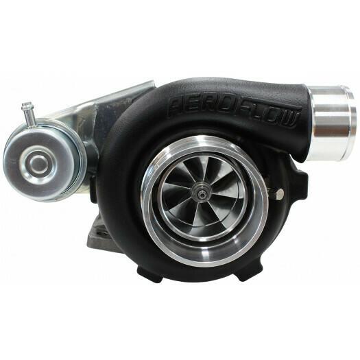BOOSTED 5428 .86 Turbocharger 445HP, Hi Temp Black Finish