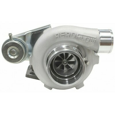 BOOSTED 4628 .64 Turbocharger 475HP, Natural Cast Finish