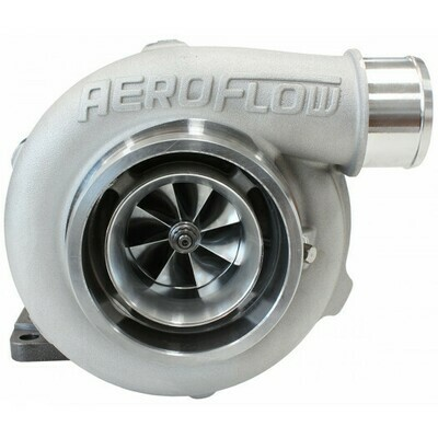 BOOSTED 5455 .82 Turbocharger 650HP, Natural Cast Finish