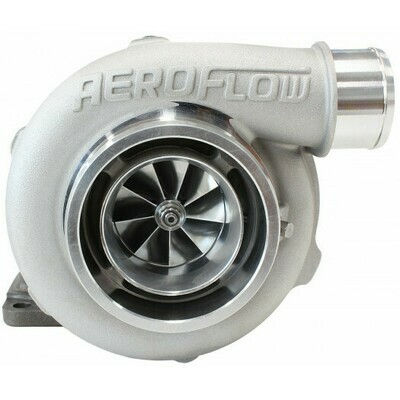 BOOSTED 5862 .82 Turbocharger 750HP, Natural Cast Finish