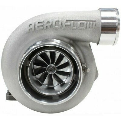 BOOSTED 6662 .63 Turbocharger 850HP, Natural Cast Finish