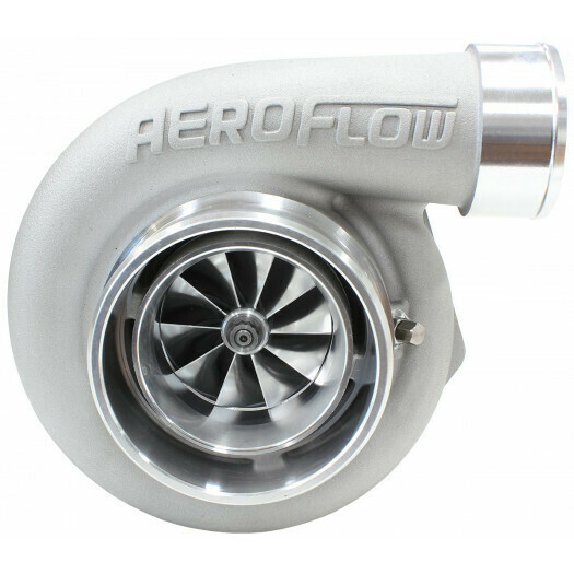 BOOSTED 6662 1.01 V-BAND Turbocharger 850HP, Natural Cast Finish
