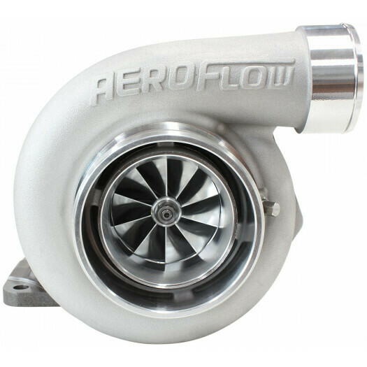 BOOSTED 6662 .82 T4 Turbocharger 850HP, Natural Cast Finish
