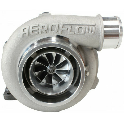 BOOSTED 5855 .82 Turbocharger 750HP, Natural Cast Finish
