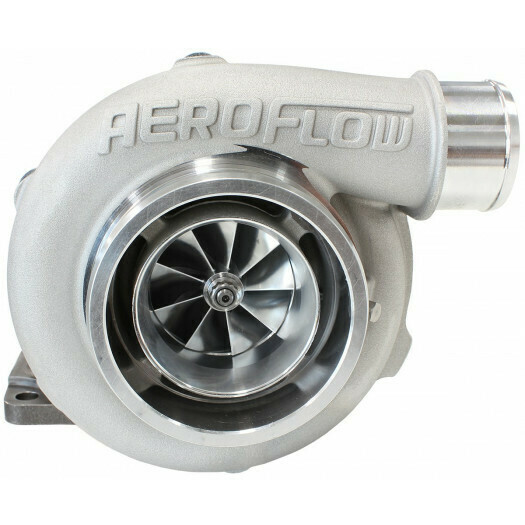 BOOSTED 5862 .63 Turbocharger 750HP, Natural Cast Finish
