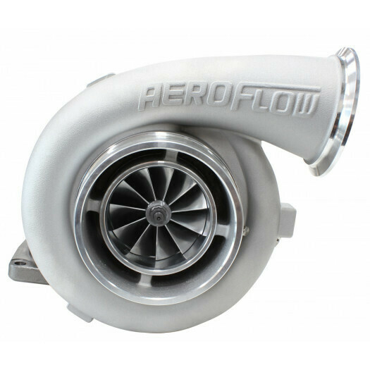 BOOSTED 8077 1.26 Turbocharger 1250HP, Natural Cast Finish