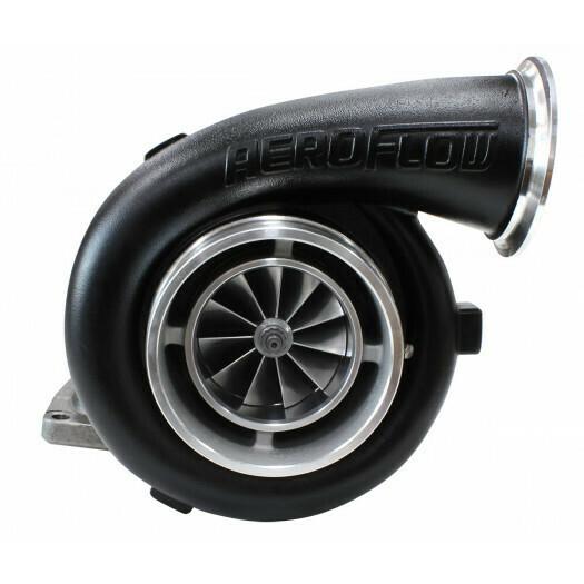BOOSTED 8077 1.26 Turbocharger 1250HP, Hi Temp Black Finish
