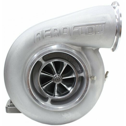 BOOSTED 7588 1.32 Turbocharger 1500HP, Natural Cast Finish