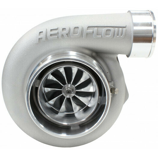 BOOSTED 6762 .83 V-BAND Turbocharger 1000HP, Natural Cast Finish