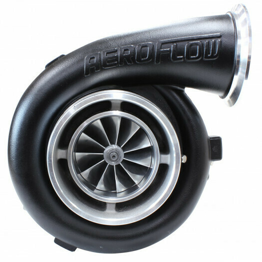 BOOSTED 8077 1.15 Turbocharger 1450hp, Hi Temp Black Finish