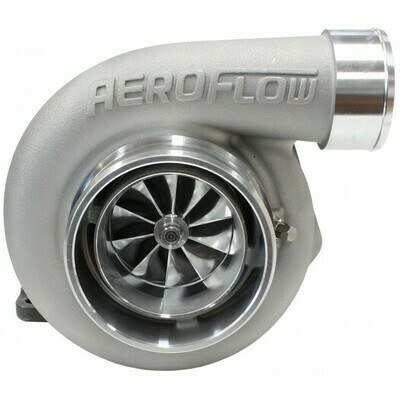 BOOSTED 6762 .83 Turbocharger 1000HP, Natural Cast Finish