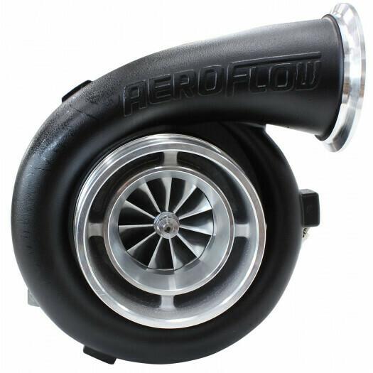 BOOSTED 7075 1.15 Turbocharger 950HP, Hi Temp Black Finish