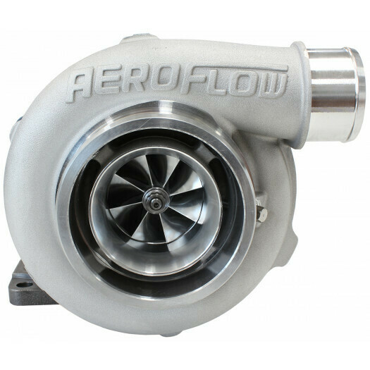 BOOSTED 5455 .63 Turbocharger 650HP, Natural Cast Finish