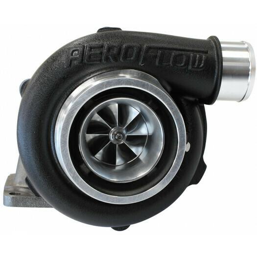 BOOSTED 5455 .63 Turbocharger 650HP, Hi Temp Black Finish