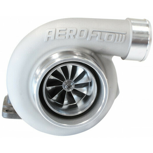 BOOSTED 6662 .82 Turbocharger 850HP, Natural Cast Finish