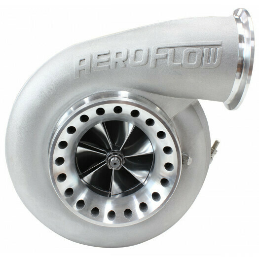 BOOSTED 8075 1.10 Turbocharger 1250HP, Natural Cast Finish