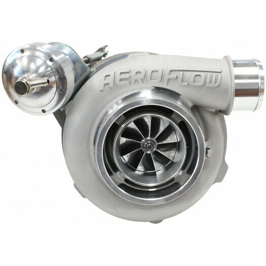 BOOSTED 5862 1.06 BA/BF/FG XR6 Turbocharger 650HP, Natural Cast Finish