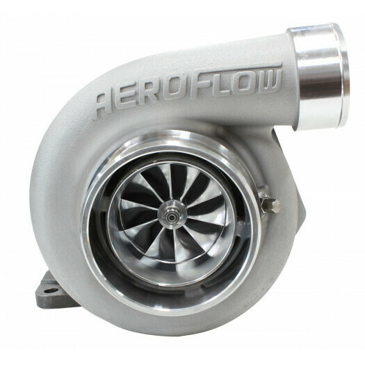 BOOSTED 6762 .83 T4 Turbocharger 1000HP, Natural Cast Finish