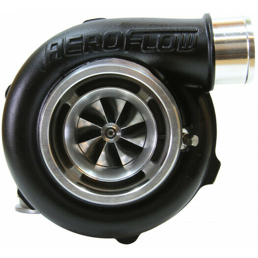 BOOSTED 5455 1.01 Turbocharger, Hi Temp Black Finish
