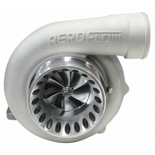 BOOSTED 6766 .81 Turbocharger, Natural Cast Finish