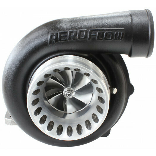BOOSTED 6766 .81 Turbocharger, Hi Temp Black Finish
