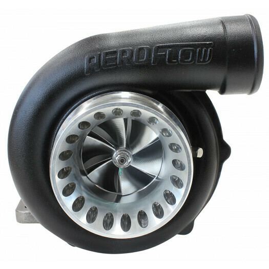 BOOSTED 6766 .81 Turbocharger, Hi Temp Black Finish