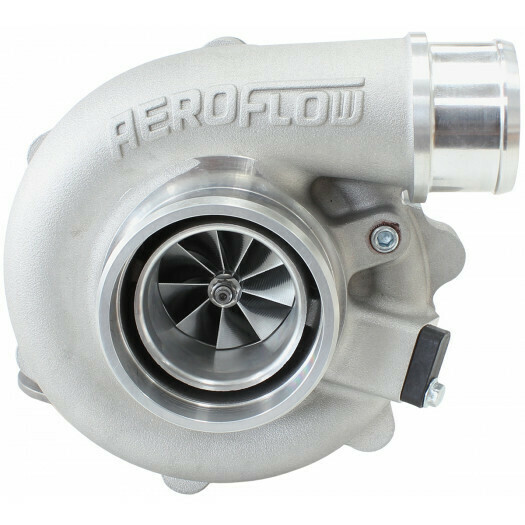 BOOSTED 4849 .72 Turbocharger, Natural Cast Finish