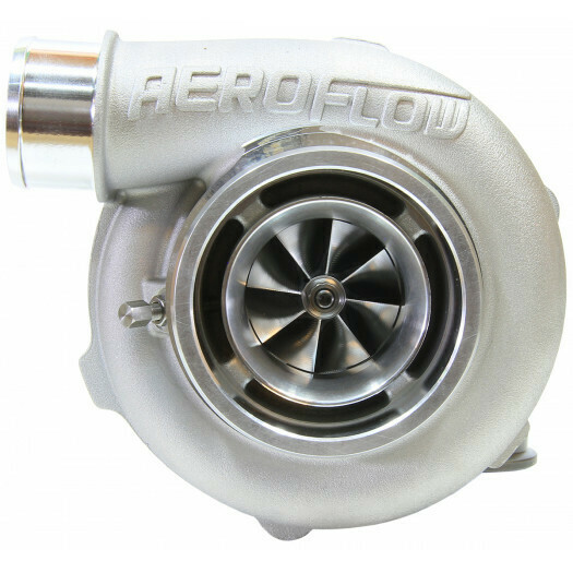 BOOSTED 5455 .83 Reverse Rotation Turbocharger, Natural Cast Finish