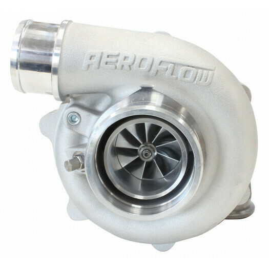 BOOSTED 4849 .72 Reverse Rotation Turbocharger, Natural Cast Finish