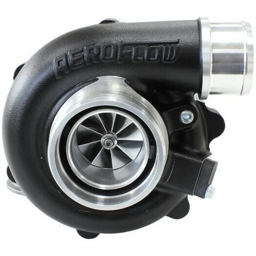 BOOSTED 4849 .72 Turbocharger, Hi Temp Black Finish