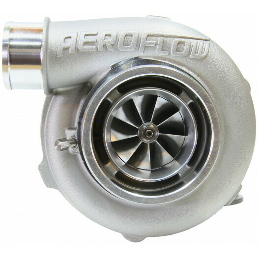 BOOSTED 5855 1.0 Reverse Rotation Turbocharger, Natural Cast Finish