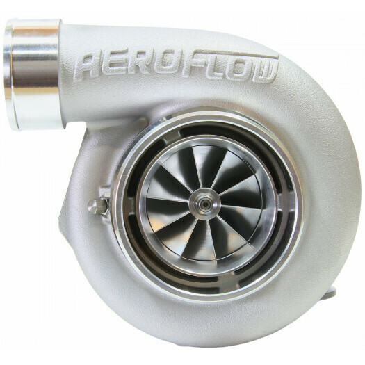BOOSTED 6762 1.0 Reverse Rotation Turbocharger, Natural Cast Finish