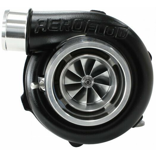 BOOSTED 5855 1.0 Reverse Rotation Turbocharger, Hi Temp Black Finish