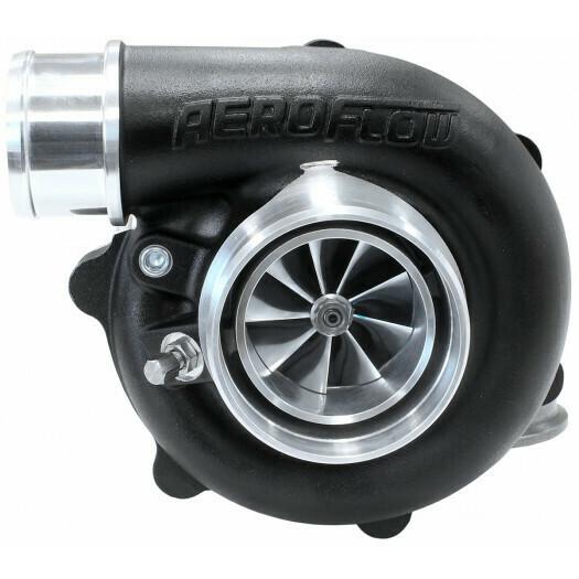 BOOSTED 5449 .72 Reverse Rotation Turbocharger 660HP, Hi Temp Black Finish