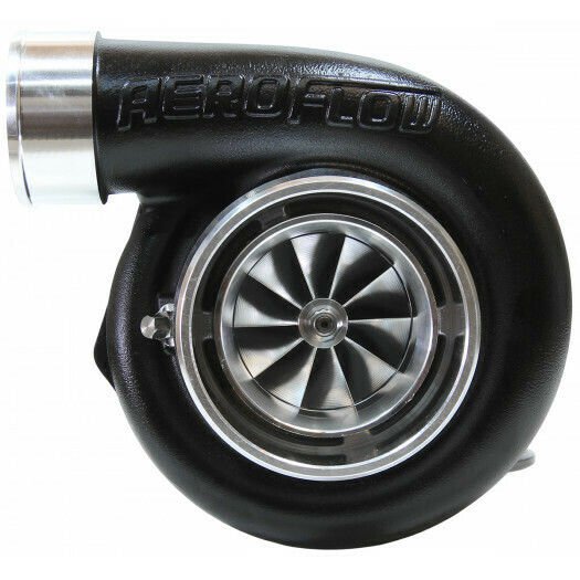 BOOSTED 6662 .83 Reverse Rotation Turbocharger, Hi Temp Black Finish
