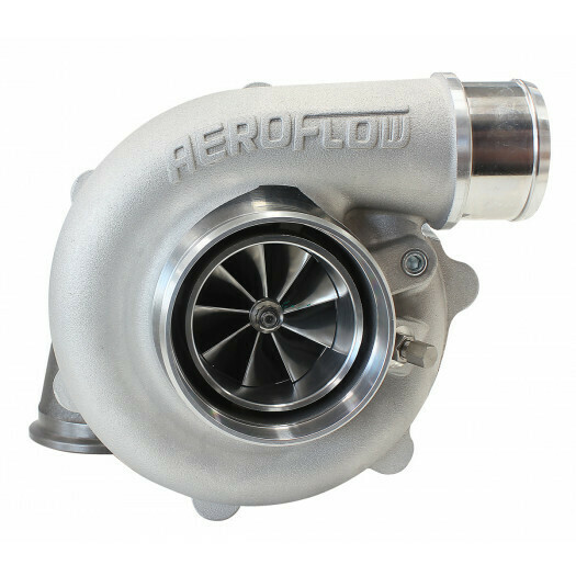 BOOSTED 5449 .72 Turbocharger 660HP, Natural Cast Finish