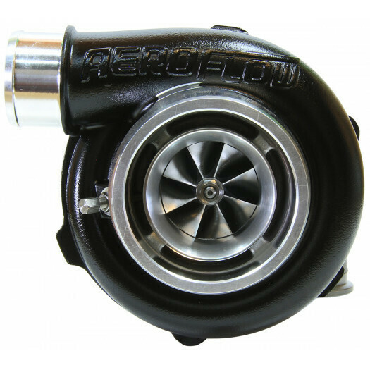 BOOSTED 5455 .83 Reverse Rotation Turbocharger, Hi Temp Black Finish