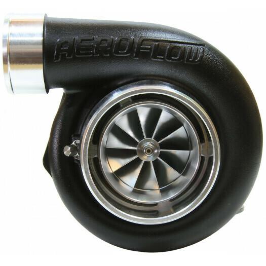 BOOSTED 6762 .83 Reverse Rotation Turbocharger, Hi Temp Black Finish